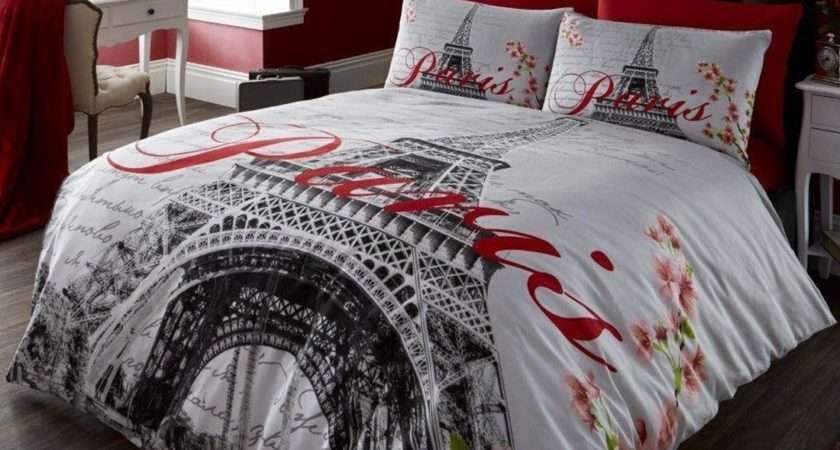 Paris Bedding Single Duvet Cover Sets City Landmarks