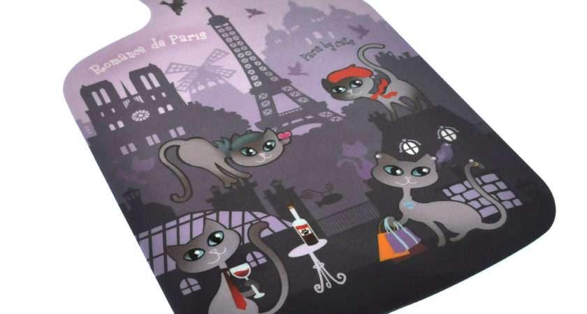 Paris Cats Chopping Board Melamine Ebay