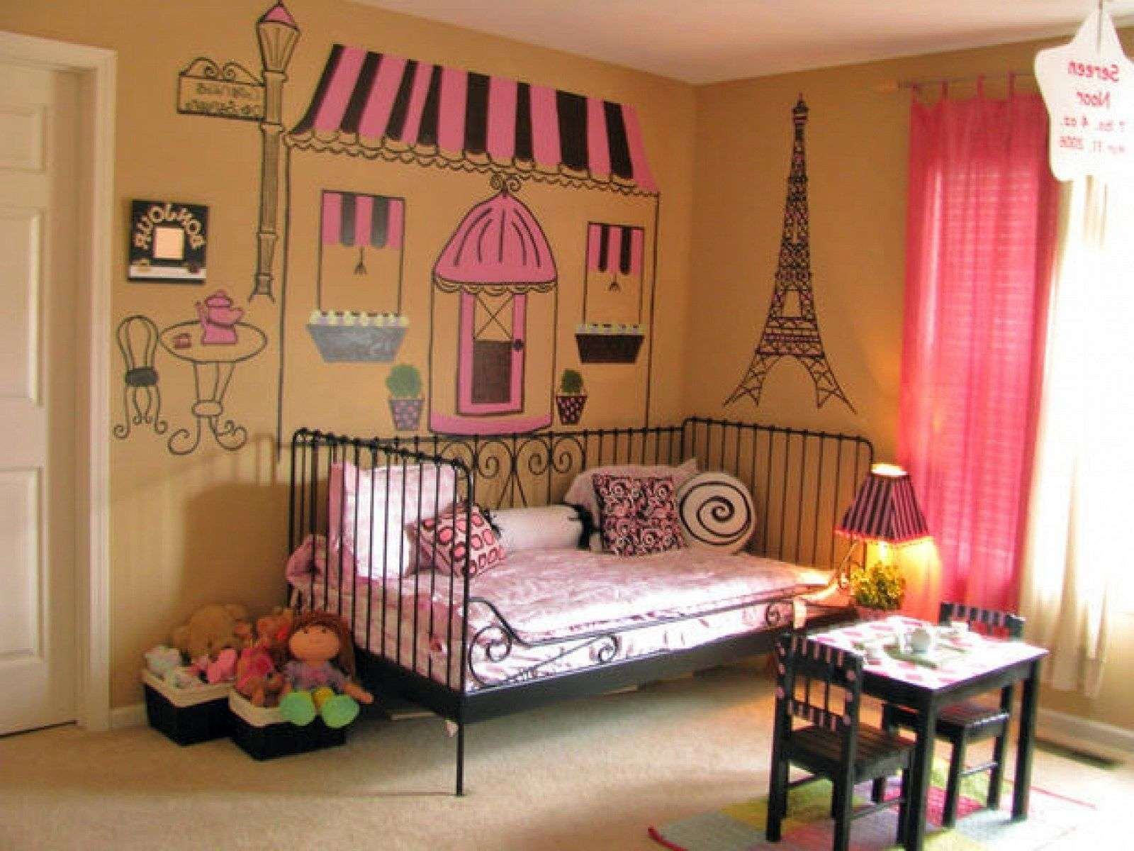 Paris Themed Bedrooms Teenagers