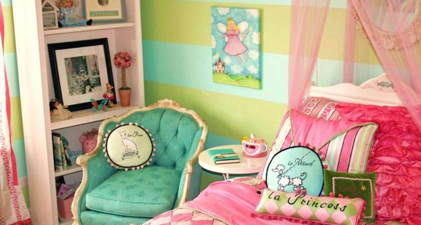 Parisian Inspired Girl Room Designed Bdifferent Playful