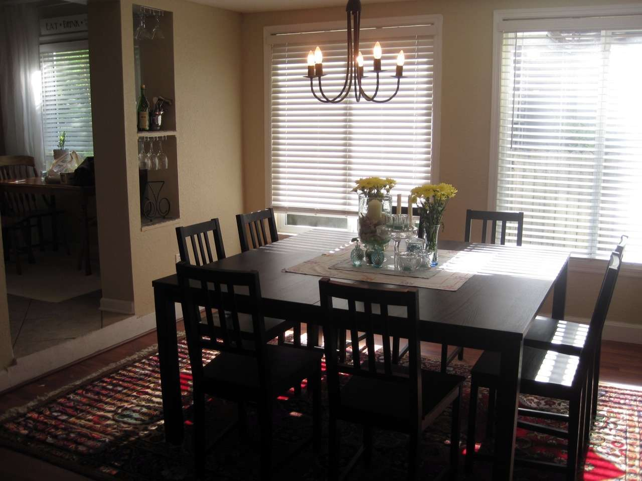 Part Furniture Idea Within Decorate Dining Room
