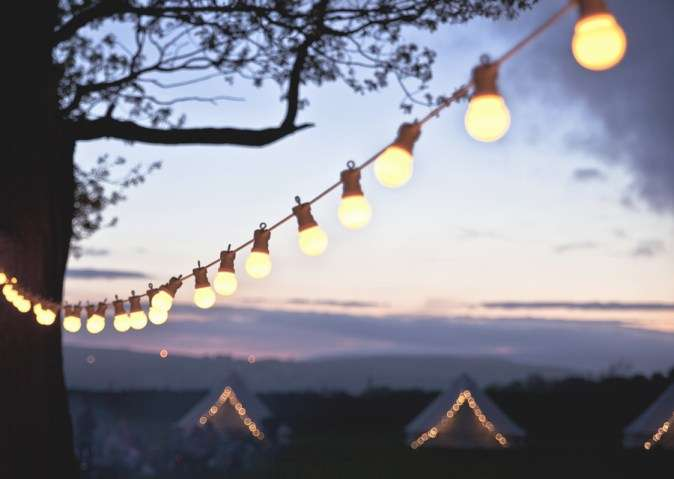 Party Complete Without String Retro Style Festoon Lights