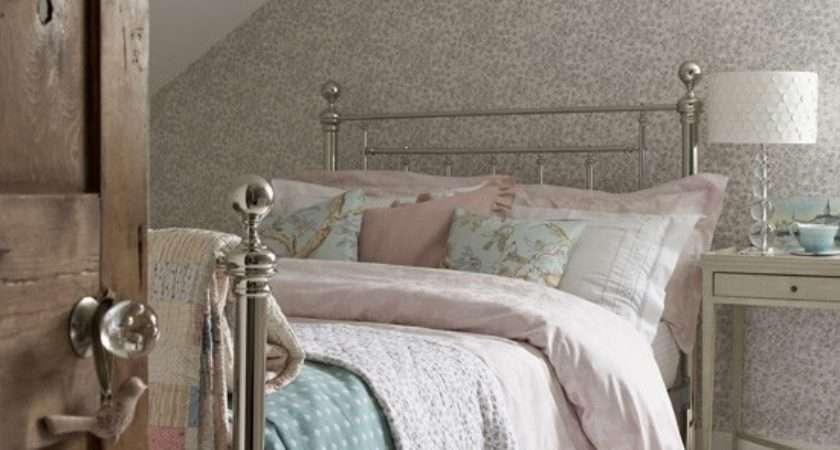 Pastel Country Style Attic Bedroom Perfect Sleep