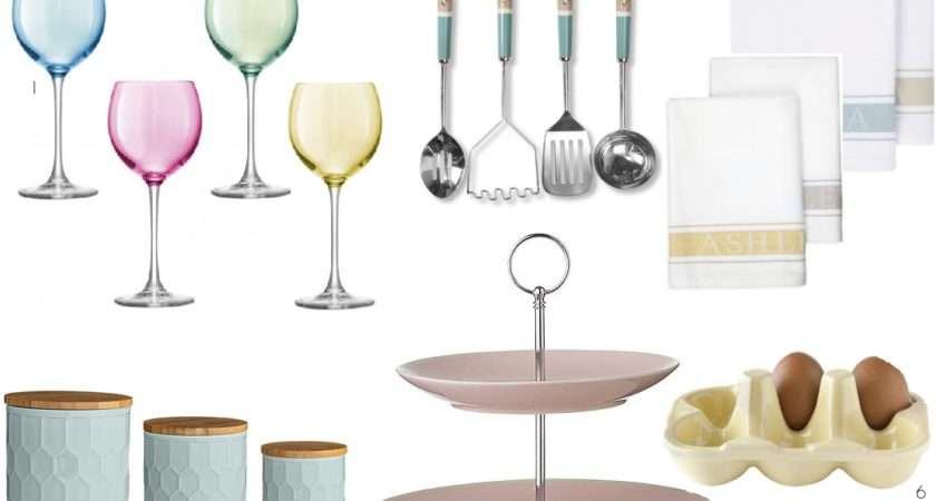 Pastel Kitchen Accessories Britishstyleuk