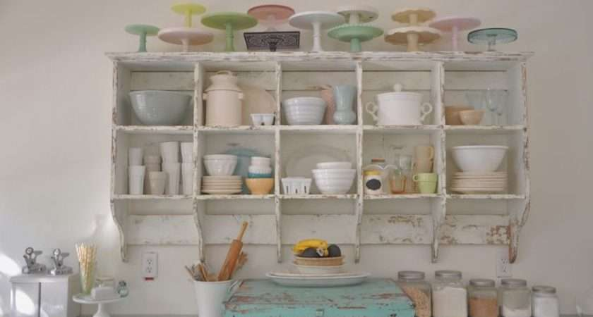 Pastel Vintage Kitchen Cubbies House Decorating Pinterest