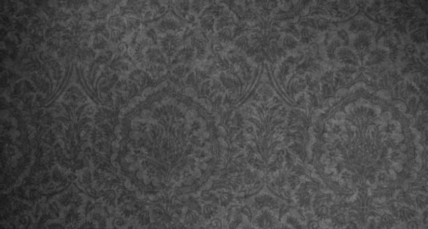 Pattern Dark Grey Damask