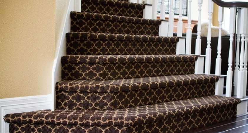 Patterned Carpet Stairs Home Pinterest