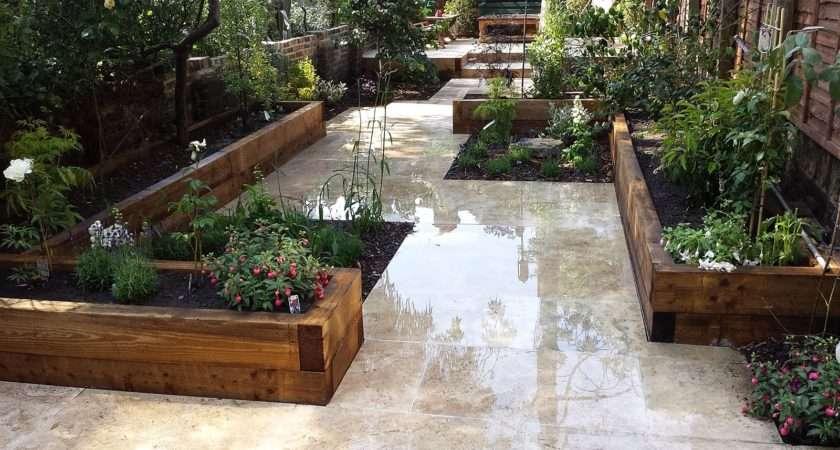 Paved Gardens Designs Ideas Cheap Home Garden