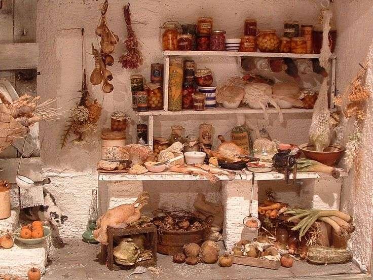 Pays Larder Sors House Room Miniature