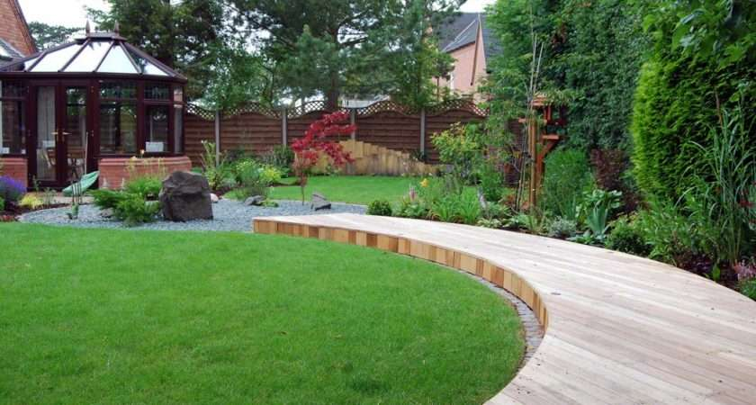 Peaceful Zen Style Garden