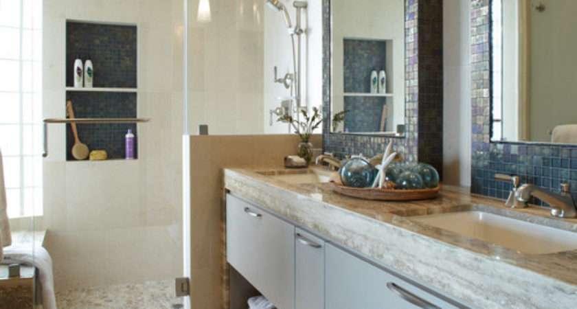 Pebble Tiles Bathroom Mosaic