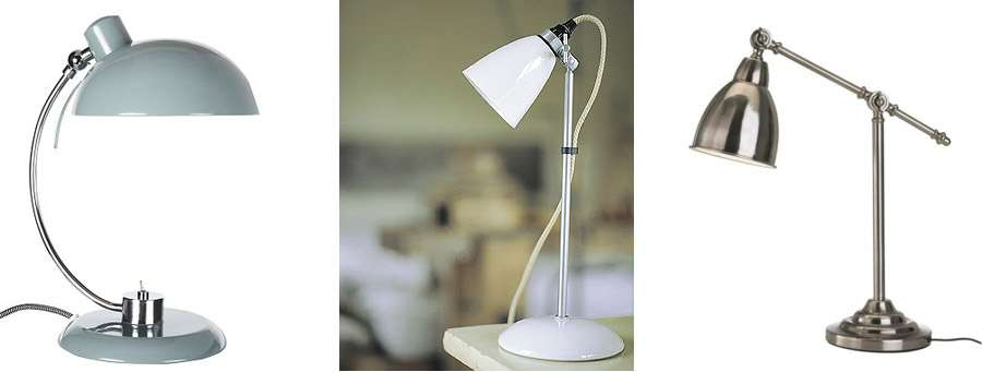 Penelope Task Lamp Slate John Lewis Hector Table