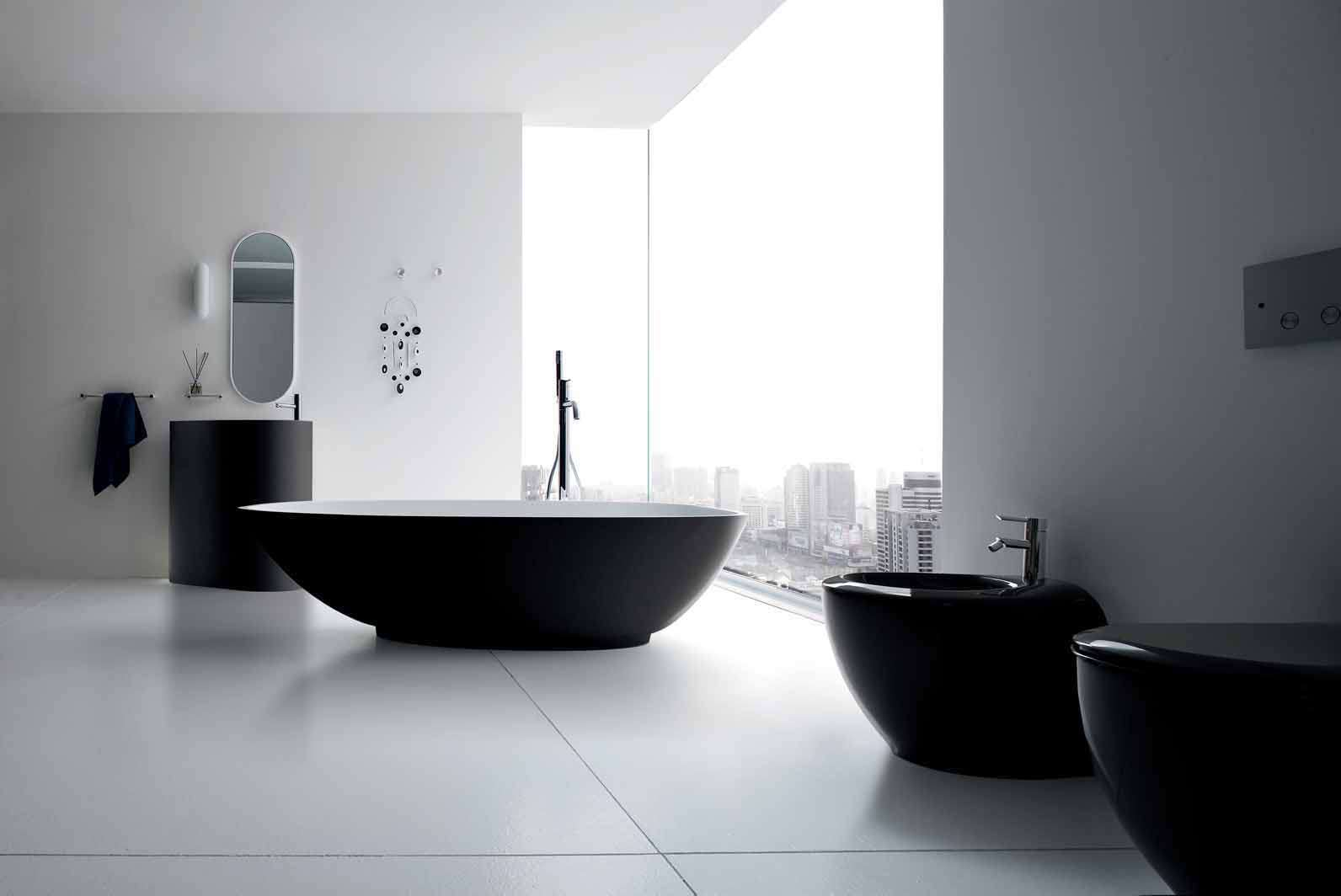 Perfect Bathroom Design Ideas Black White