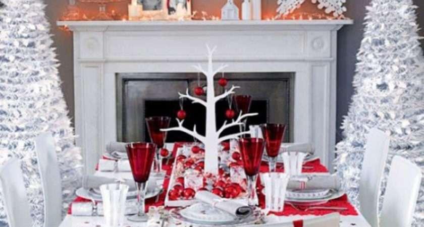 Perfect Christmas Table Setting Decorative