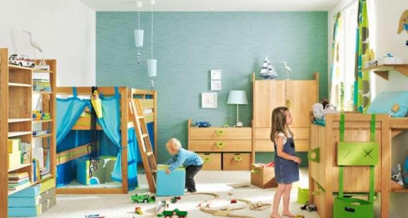 Perfect Kids Bedroom Fun Playroom Area Furniture Home Idea