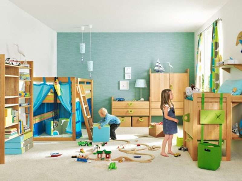 Perfect Kids Bedroom Fun Playroom Area Furniture Home Idea