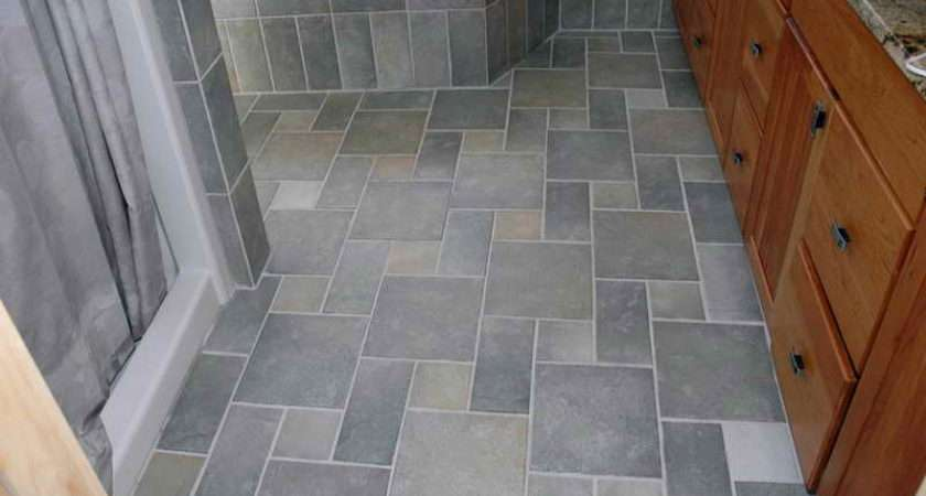 Perfect Tile Floor Designs Bathrooms Dominating