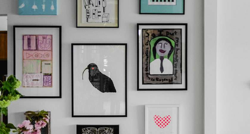 Perfectly Imperfect Living Hanging Art Wall
