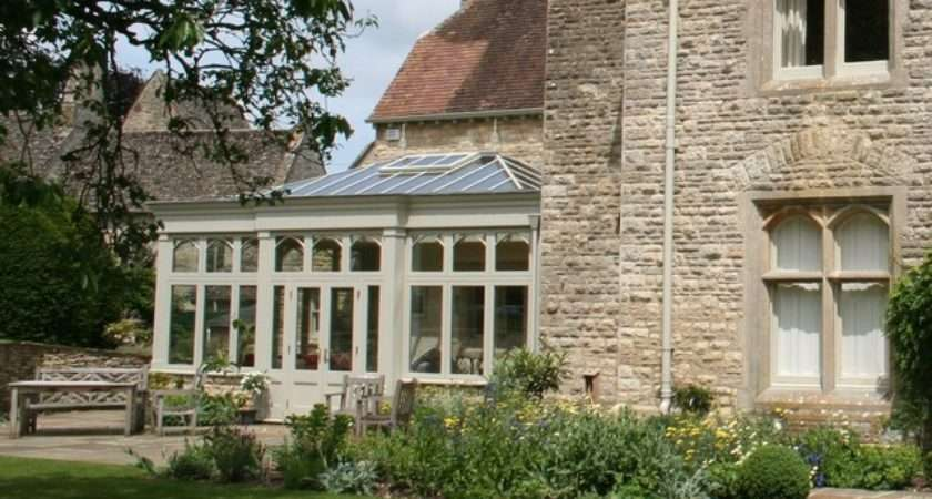 Period Home Orangery Extension Country Exterior