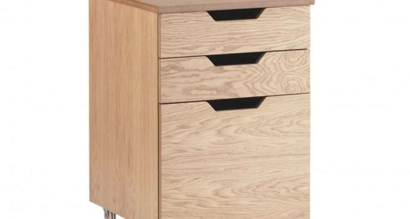 Personal Filing Cabinet Under Drawers Storage