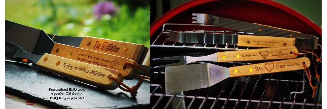 Personalised Bbq Tools King