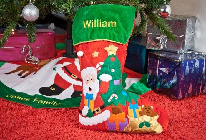 Personalised Christmas Stocking Gifts