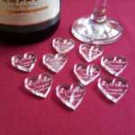 Personalised Heart Wedding Table Decorations Truly Personal