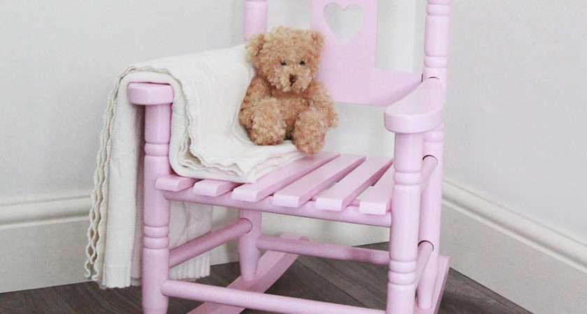 Personalised Rocking Chair Years