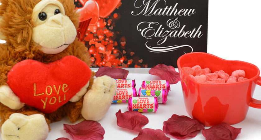 Personalised Valentine Gift Box Buy Prezzybox