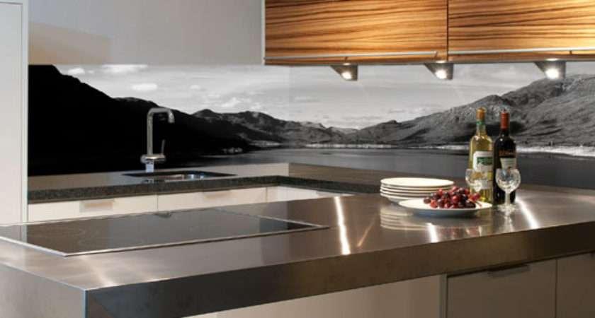 Photographic Kitchen Splashback Design Lakeview