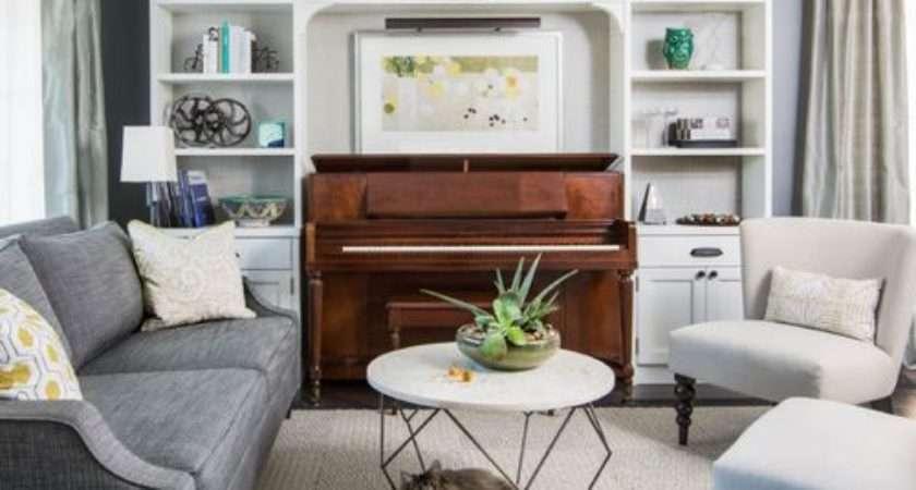 Piano Living Room Home Design Ideas Remodel