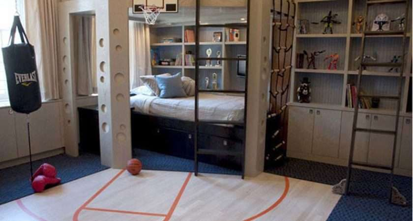 Pic Basketball Boys Room Decorating Ideas