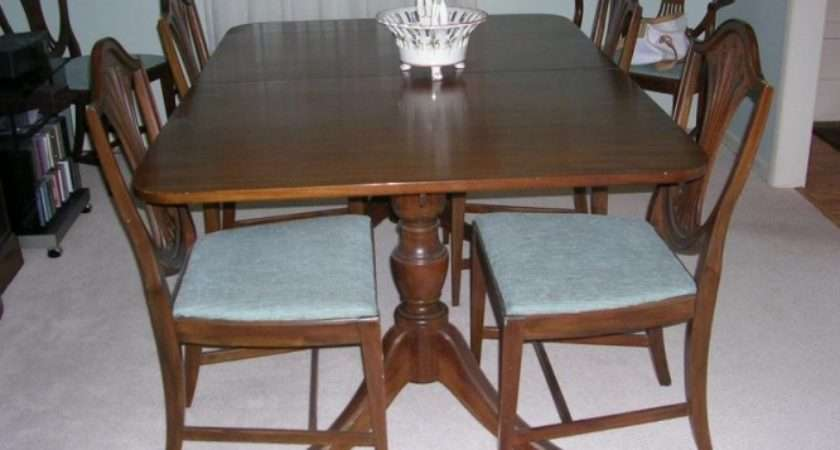 Pics Photos Antique Dining Room Table Chairs