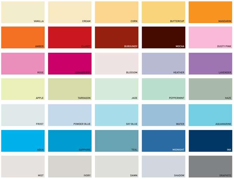 Dulux Kitchen Bathroom Paint Colours Chart Best