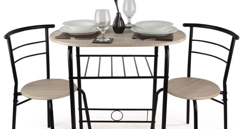 Piece Dining Set Breakfast Bar Kitchen Table Chairs