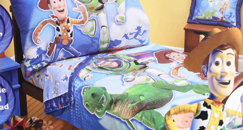 Pin Toy Story Bedding Quilt Cover Set Ultra Action Double