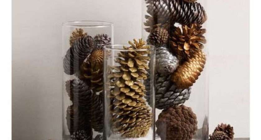 Pine Cone Easy Table Decoration Diyideacenter