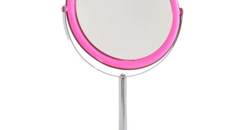 Pink Bathroom Mirror Shabby Chic Wall Mirrors