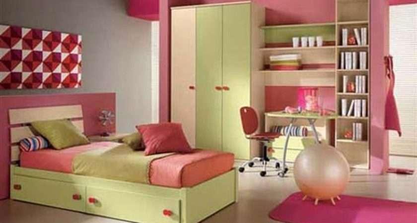 Pink Bedroom Color Combinations Design Ideas Teen