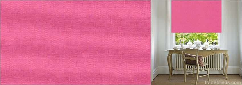 Pink Blackout Blinds Stunning Vibrant Bright Roller