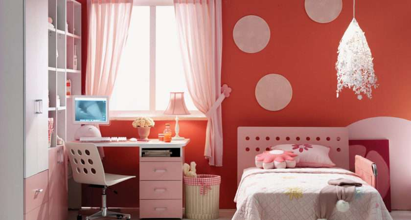 Pink Curtain Furniture Produce World Like Angel Room
