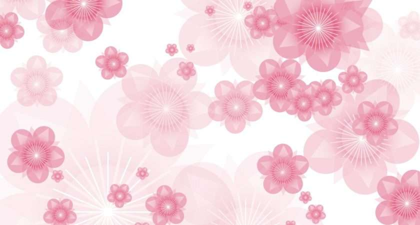 Pink Flower Tumblr Abstract