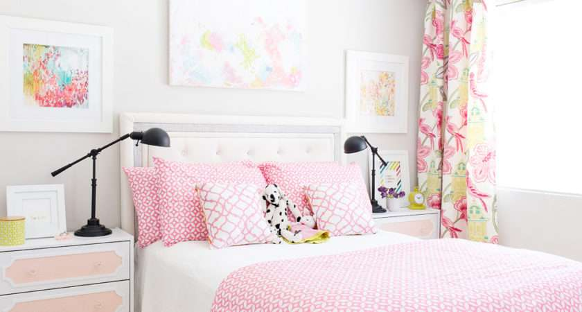 Pink Girl Room Makeover Maria Jung