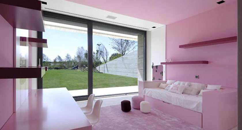 Pink Girly Living Room Plans Interior Design Architecture