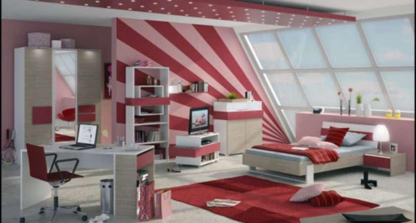 Pink Girly Teen Room Decor One Total Modern Stylish