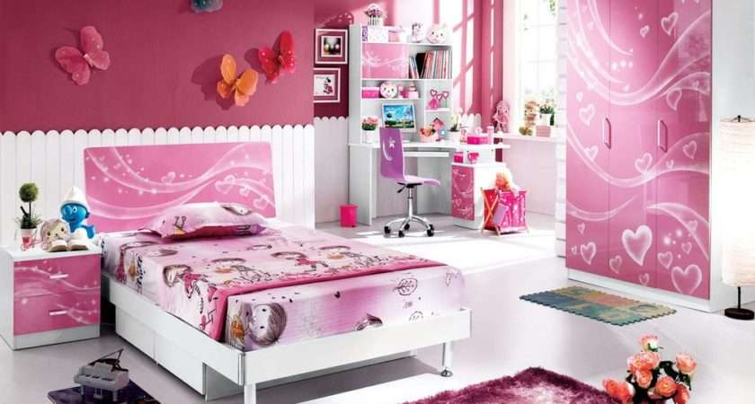 Pink Kids Bedroom Furniture Girls Homefurniture