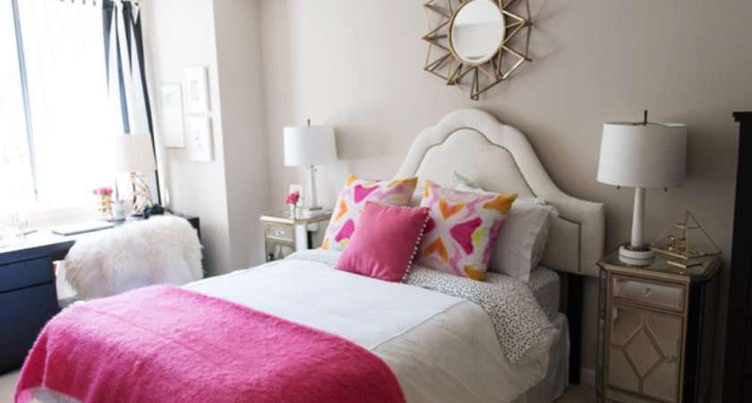 Pink Orange Bedroom Decor Ideas Alicia Tenise