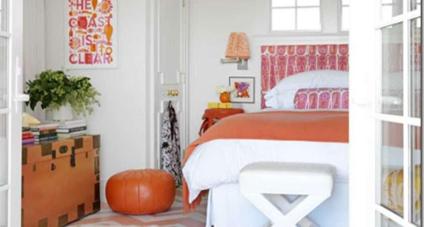 Pink Orange Girls Designer Bedrooms Inspiring