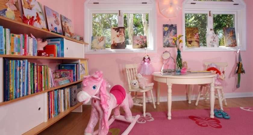 Pink Playroom All Little Girls Dream Shade
