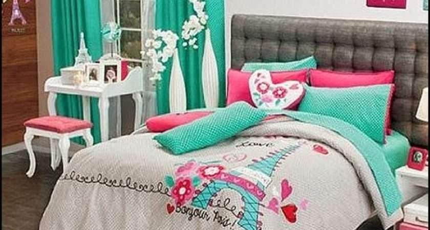 Pink Poodles Paris Style Bedroom Decorating